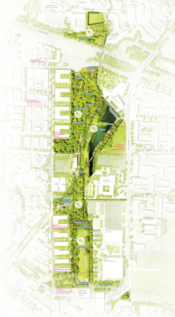 Geländeplan Kirchheim 2024